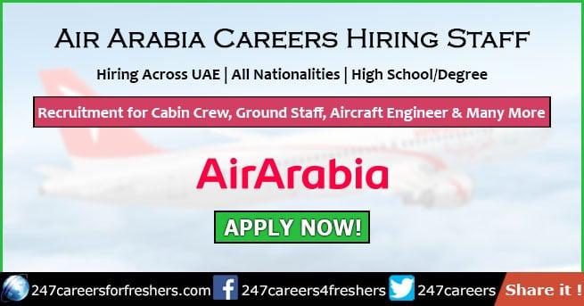 Air Arabia Careers