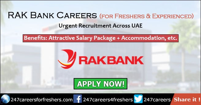 RAK Bank Careers