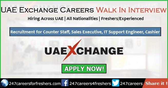 UAE Exchange Careers