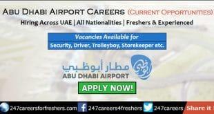 Abu Dhabi Airport Careers