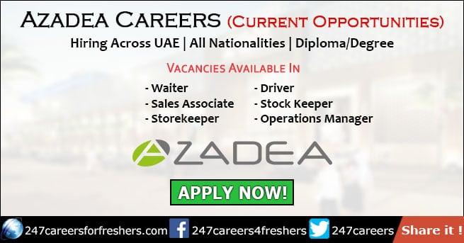 Azadea Careers