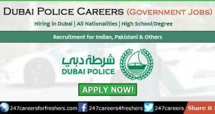 Dubai Police Careers