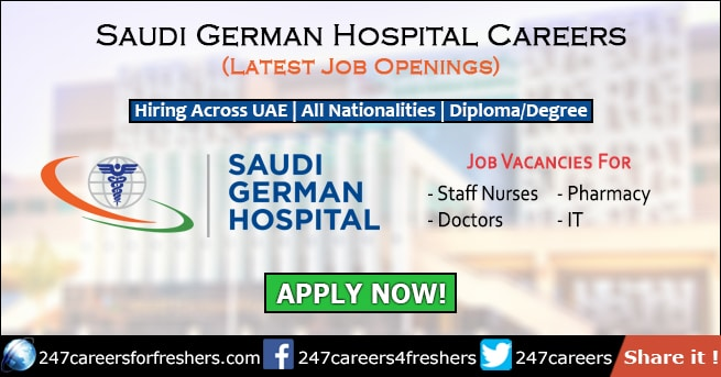 Saudi German Hospital Careers