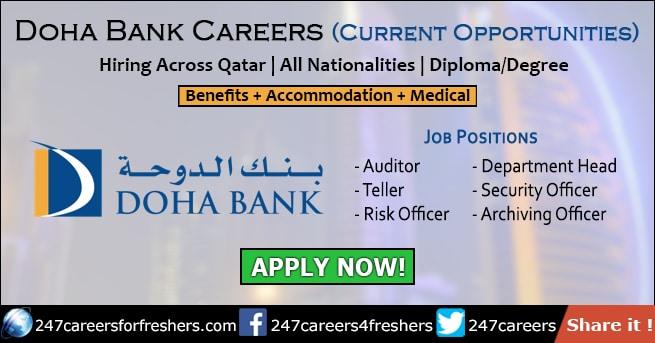 Doha Bank Careers