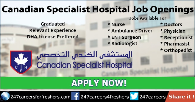 Canadian Specialist Hospital Careers